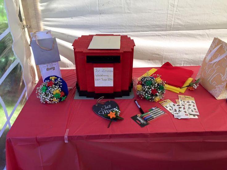 My lego wedding post box :)