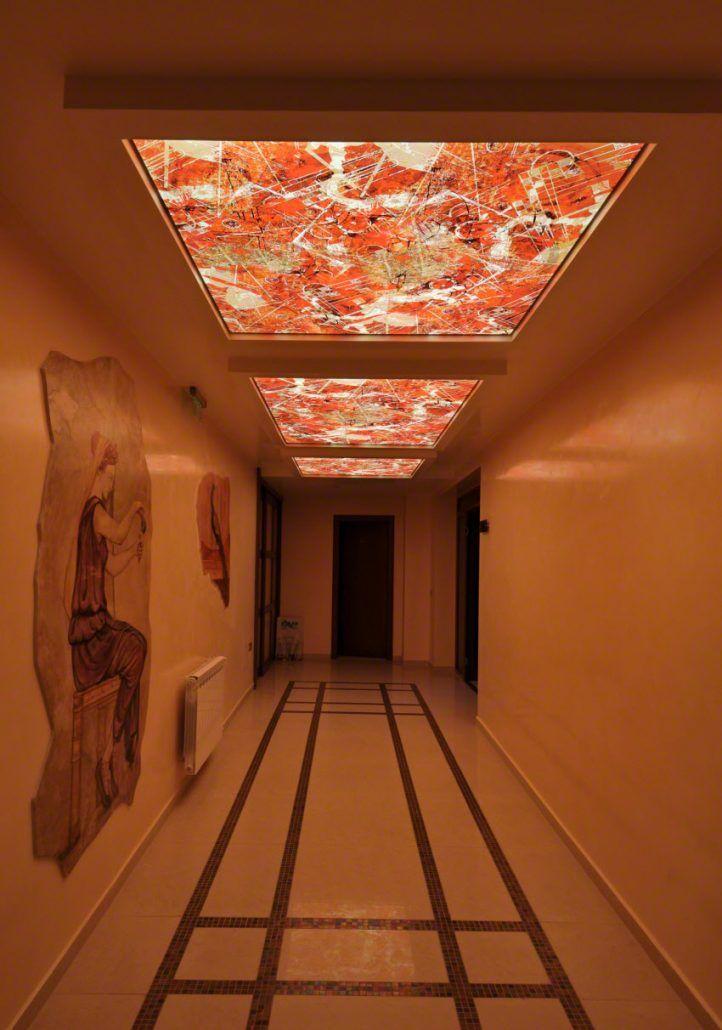 اسقف جبس اف ضوئية تصاميم جبس للاسقف اسعار الاسقف المشدودة