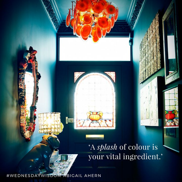 """""""A splash of colour is your vital ingredient."""" #WednesdayWisdom"""