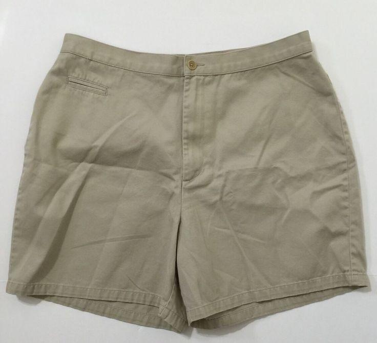Caslon Petite Women's Beige Casual Shorts Size 14 #Caslon #CasualShorts