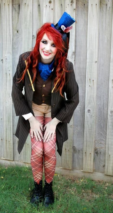 how to make a mad hatter halloween costume