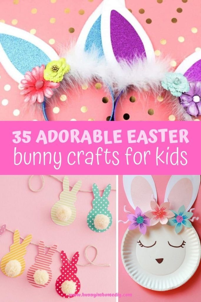 35 Easy Easter Bunny Crafts For Kids Bunny Crafts Crafts For