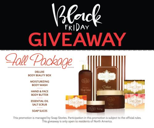 Soap Stories Black Friday Giveaway! Ends 11/30 {US} via... sweepstakes IFTTT reddit giveaways freebies contests