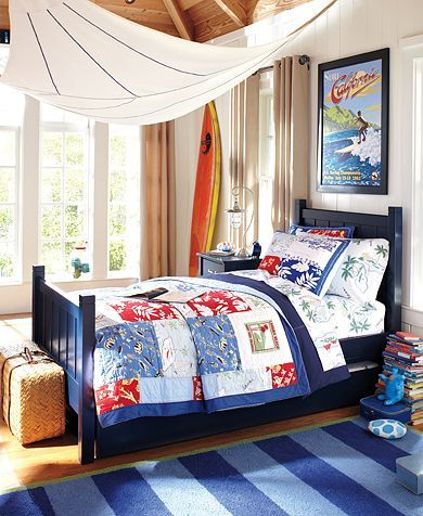 8 best images about hawaii guest room on pinterest boys for Boys beach bedroom ideas