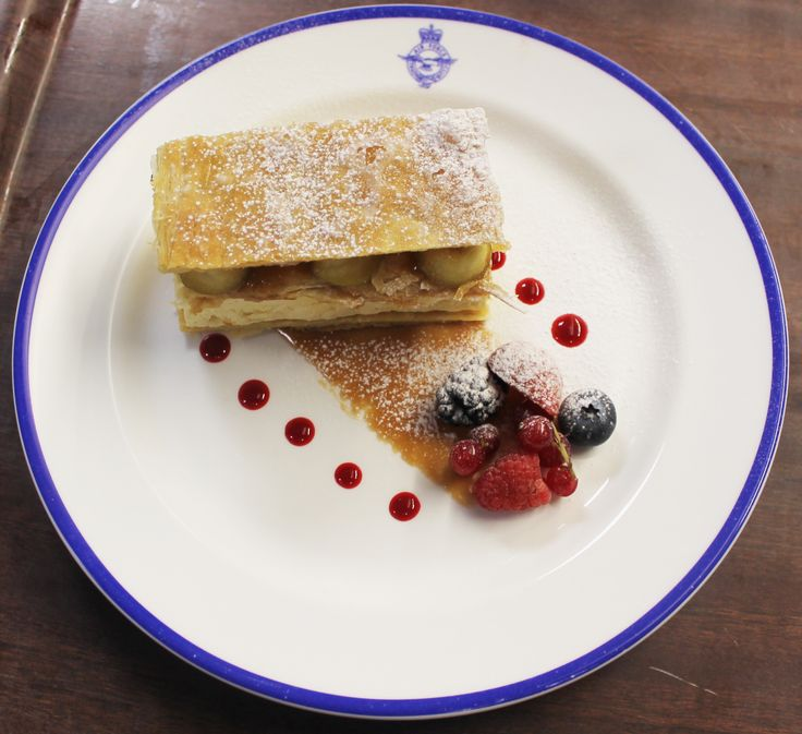 Caramelized Apple Mille-Feuilles