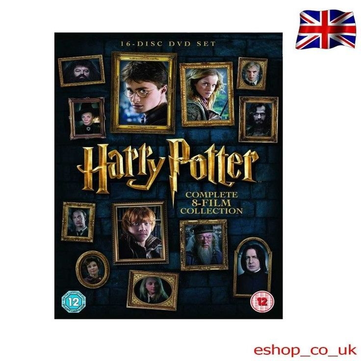 #Harry potter complete 8 film #collection 2016 edition dvd uv new 16 #discs box s,  View more on the LINK: 	http://www.zeppy.io/product/gb/2/252709627688/