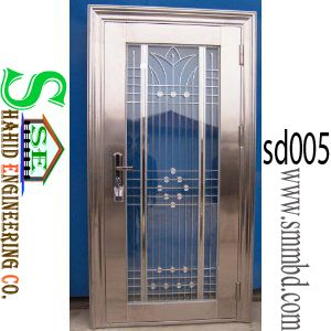 Category: Steel Door Tags: -Front Doors, Frames, Metal & Steel Doors, Shop Entry Doors, Steel & Hollow Metal Doors, Steel Doors, steel security door Model No	: SD 005 Delivery Time	: 15-25 Days Shipment	: Free in Dhaka city Product Unit	: Price per pcs. Materials	: iron ,Mile Steel Size	: H ' x L ' or As your requirement Metal type	: Steel, Wrought iron