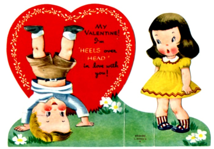 Old Fashioned Valentine: Holiday, Vintage Valentines, Valentine Day Cards, Valentine Cards, Valentines Day, Heels, Valentine S, Vintage Cards