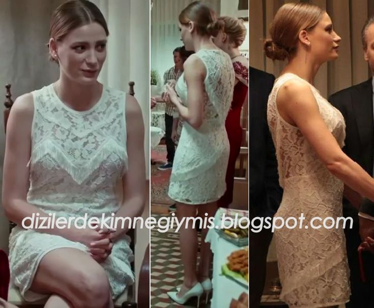 Medcezir - Mira (Serenay Sarıkaya), White Sandro Dress