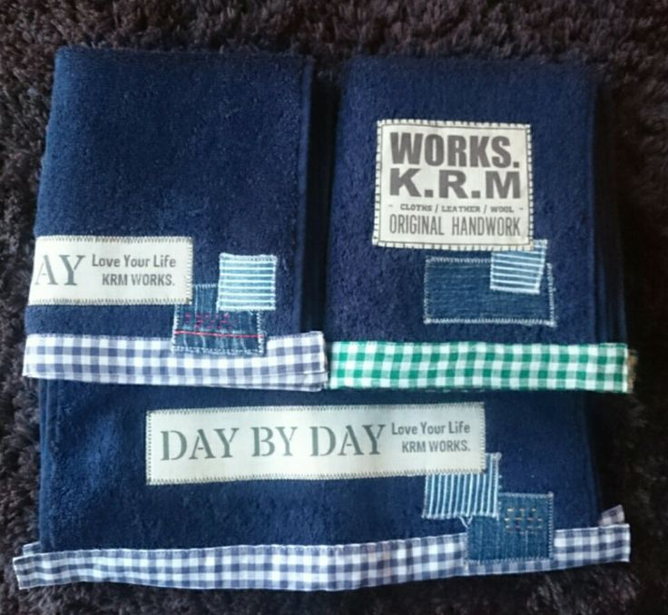 ハンドタオルとフェイスタオル作りました‼の画像 | KRM WORKS.の手作り日記