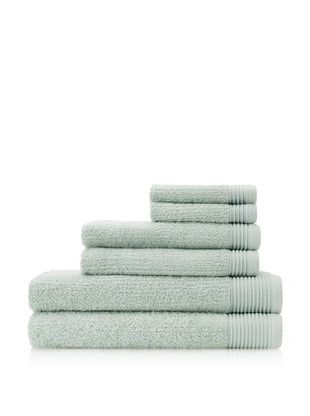 Espalma Brilliance 6-Piece Towel Set, Sage