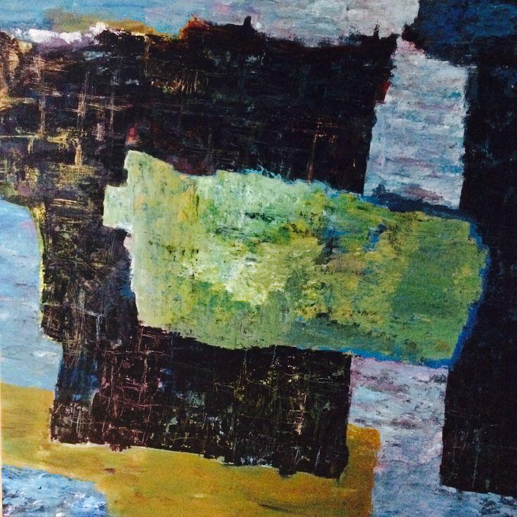 Kell Jarner. Acryl på lærred, 200 x 200 cm, februar 2015