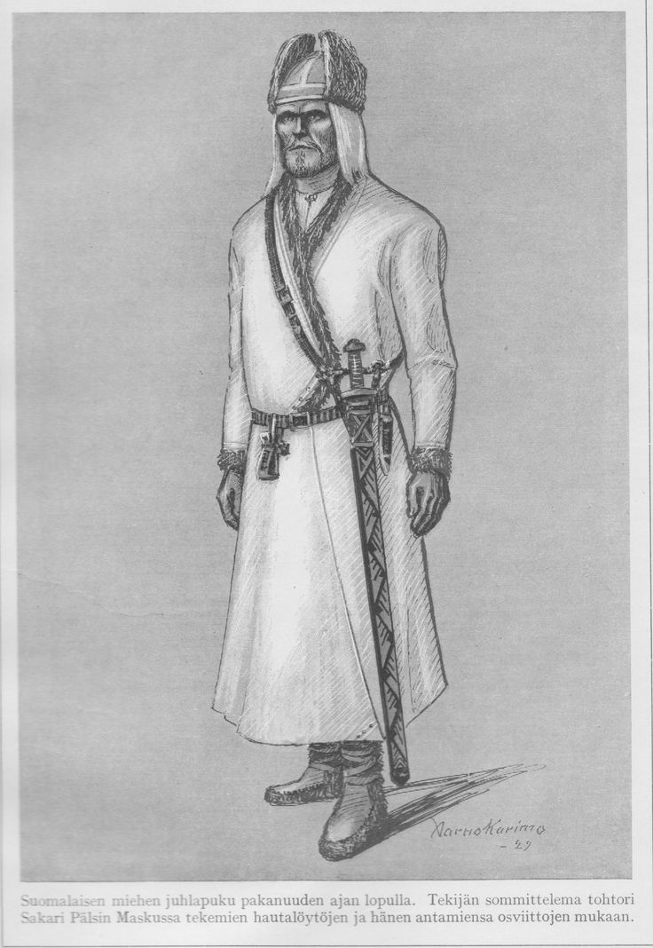 Viking age / Finnish man