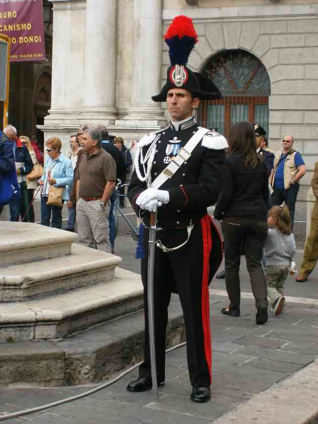 Italy's national police the Carabinieri! Carabinieri Formal Dress Uniform