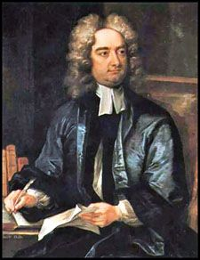 "Jonathan Swift - ""(30 November 1667 – 19 October 1745) Irish author [""Modest Proposal"" etc.]"