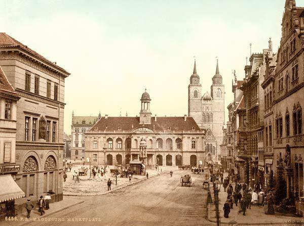 magdeburg historiscche bilder   Bild: - Magdeburg, Alter Markt