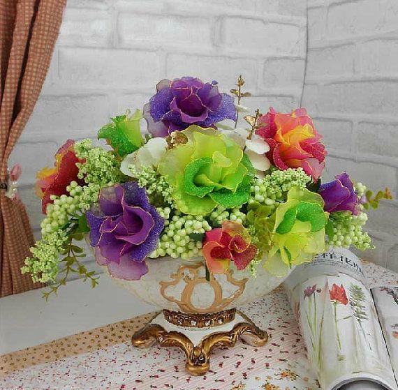 Handmade Colorful Roses