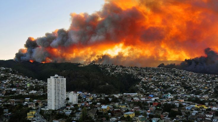 The NYTimes perspective on the forest fire in Chile.