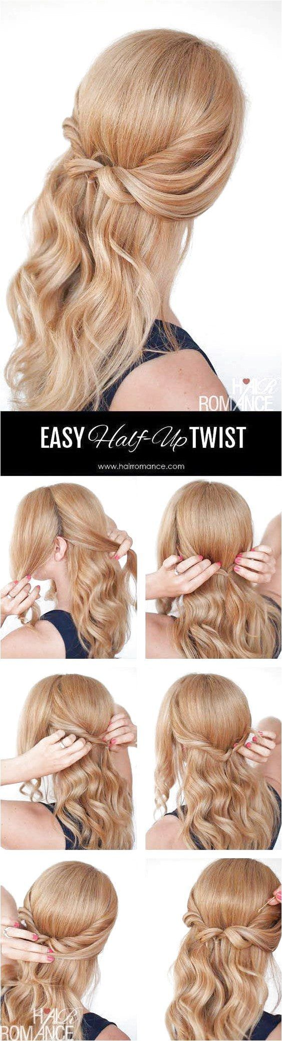 By now, we�re all well aware that the half-up half-down hairstyle is very much A Thing in the beauty world. It started with messy half top knots tha