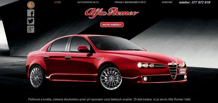 Autoservis Alfa Romeo v Plzni