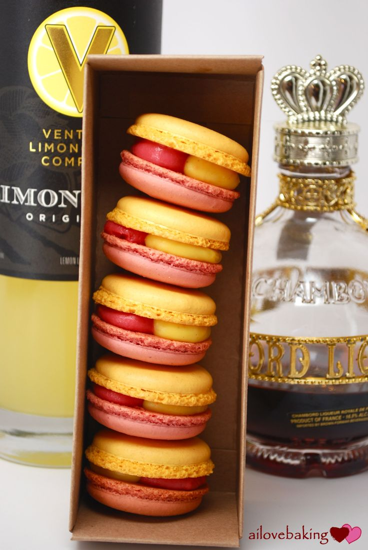 raise your glass! chambord-limoncello for mactweets | ai love baking | ai love baking