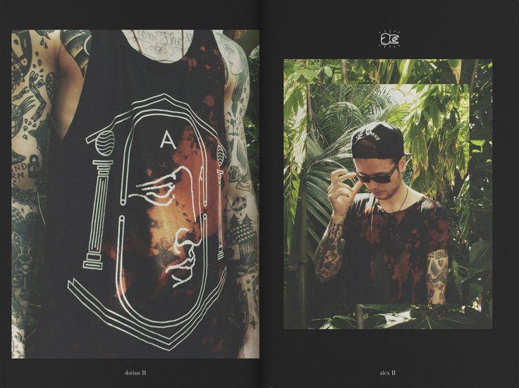 THE DORIAN II batik sleeveless tee by AARION