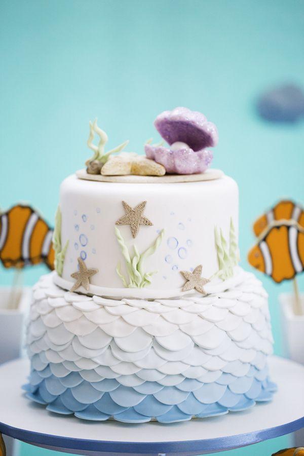 A Carol mergulhou no fundo do mar para comemorar seus 2 aninhos! Peixinhos, polvos, tubarões e estrelas do mar fizeram a festinha, que teve decoração da Ca