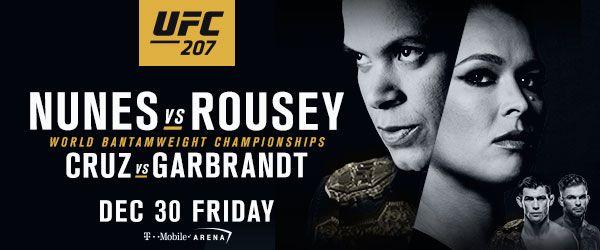 UFC 207 WEIGH-IN VIDEO - RONDA ROUSEY RETURNS VS. AMANDA NUNES