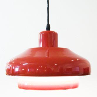Danish Modern Red Pendant Lamp (http://www.danishteakclassics.com/products/danish-modern-red-pendant-lamp/)