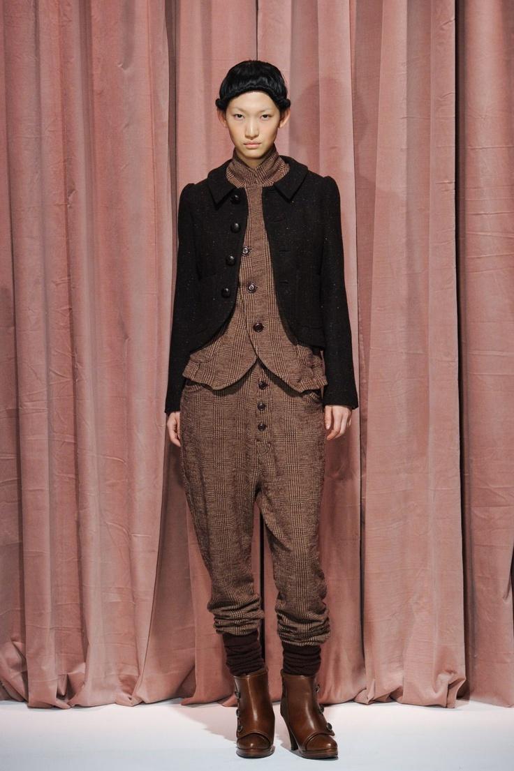 sunaokuwahara 2012-2013 autumn & winter collection look 007_mini