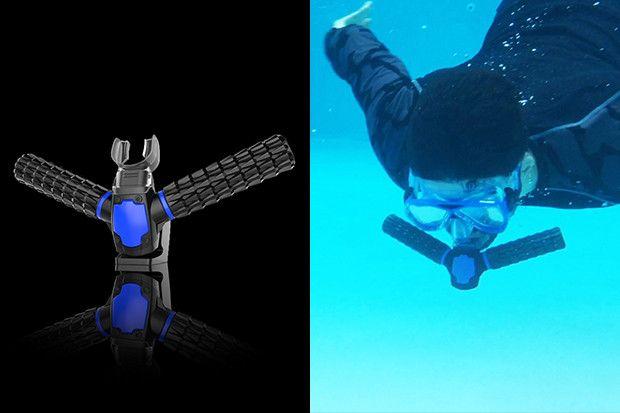 Con este sistema de branquias artificiales nos sentiremos como peces en el agua, literal