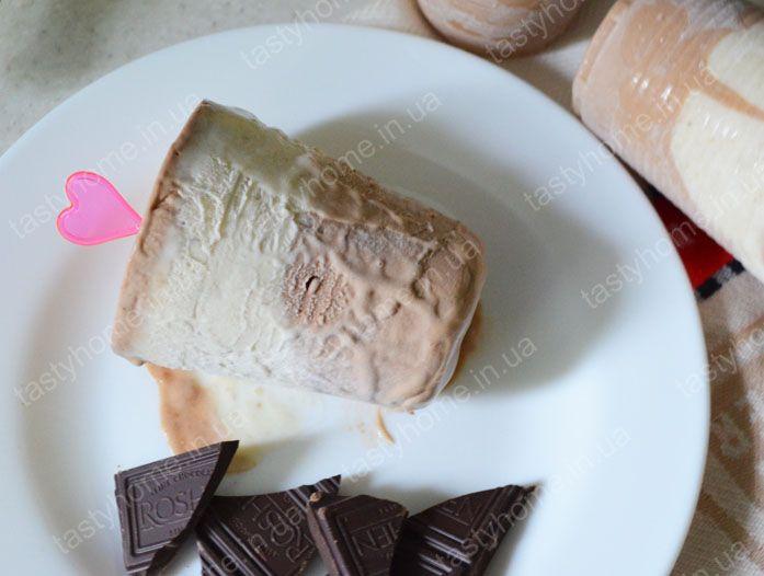 Сливочно-банановое мороженое