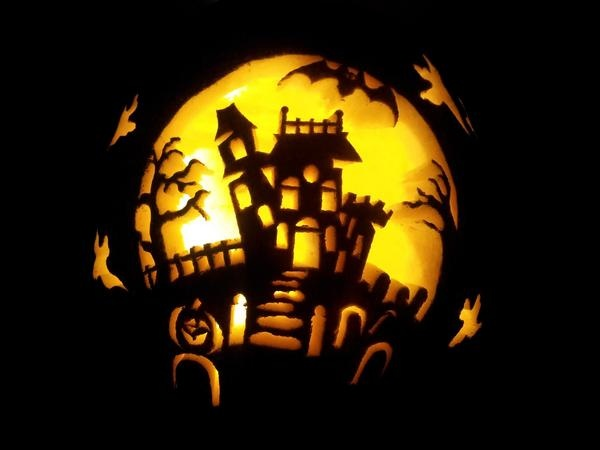 Entry from @clruse - great haunted house!