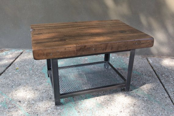 Reclaimed Wood Coffee Table Bowling Alley by BrooklynReclamation