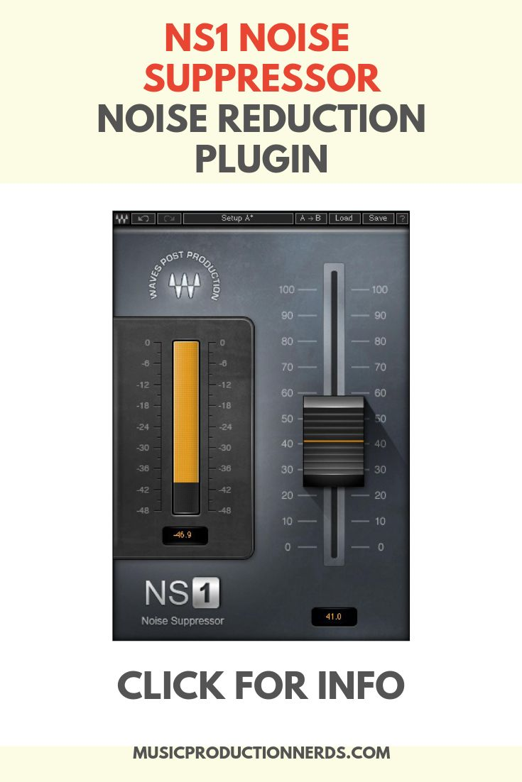 Waves Audio Ns1 Suppressor Noise Reduction Plugin Waves Audio Waves Plugins Audio Waves
