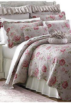 Superior Lenox® Vintage Floral Quilt Collection