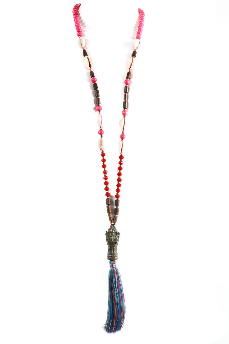 Ruby Yaya Pink and Blue Necklace
