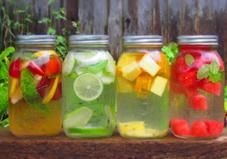 How to Make Healthy Flavored Water At Home. Awesome combos.