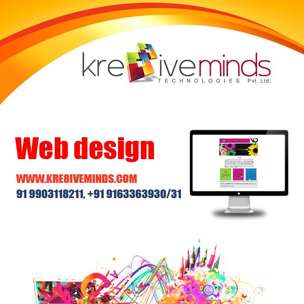 Affordable #webdesign service only at http://www.kre8iveminds.com/