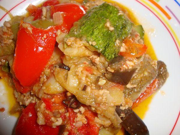 Bucataria cu noroc - Musaca cu legume amestecate
