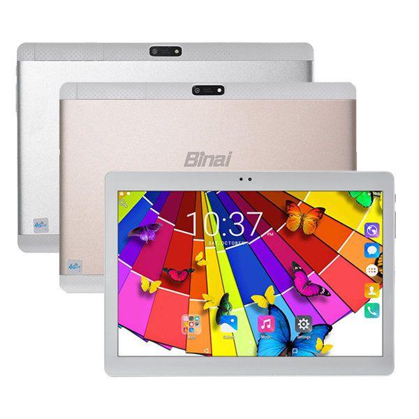 Binai Mini10 32GB MTK6735 Quad Core 10.1 Inch Android 6.0 Dual 4G Phablet Tablet…