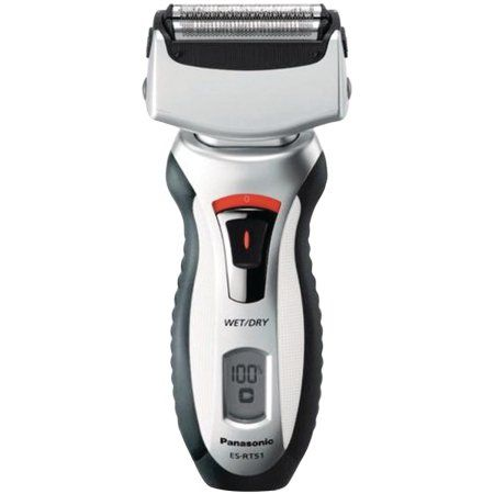 Panasonic Es-rt51s Men's Electric Shaver With Travel Pouch, Silver