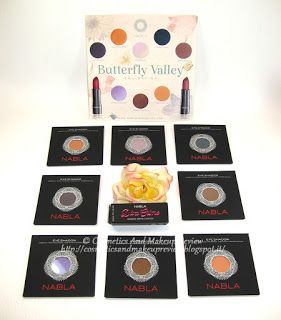 [Review] Nabla - Butterfly Valley Collection - Babylon, Clementine, Lilac Wonder, Moonrise, Peach Velvet, Pegasus, Unrestricted, Wild Side (refill)