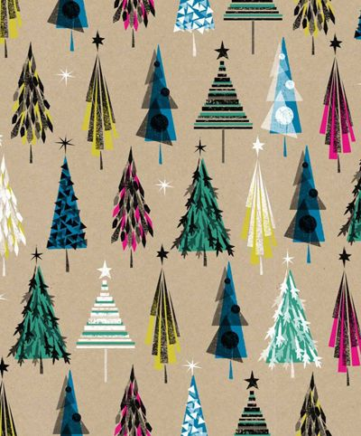 Today I am posting just some of the fabulous Christmas designs spotted at Paperchase . I especially loved the inventiveness in these graph...