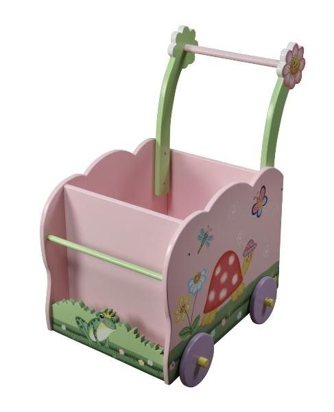 Teamson Design Magic Garden Doll/Push Cart
