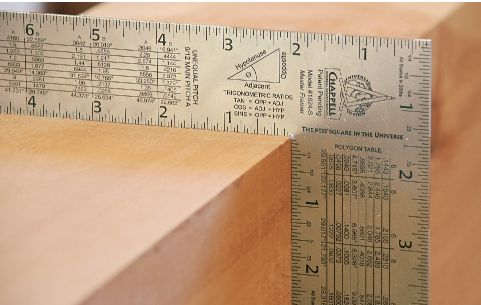 Chappell Master Framing Square Stainless Steel Uses