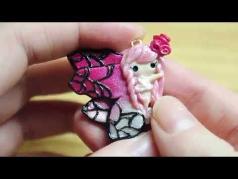 Butterfly Fairy polymer clay tutorial - mythical creatures