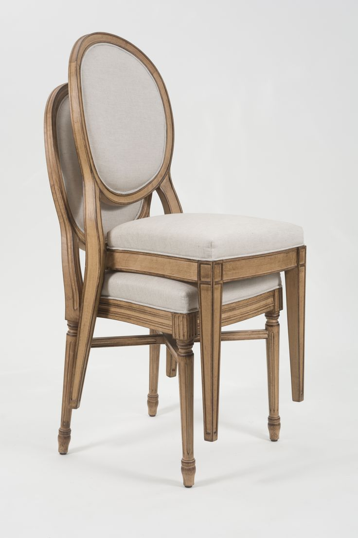Stacking Wood Dining Chairs With Antiques Finish Upholstered Seat And Back Wharton Hunt