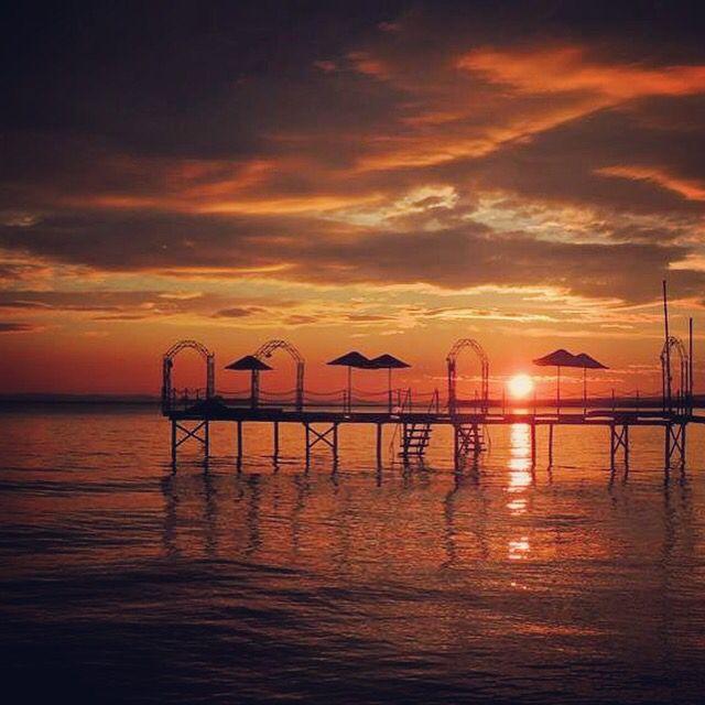 Şarköy gün batımı ❤️