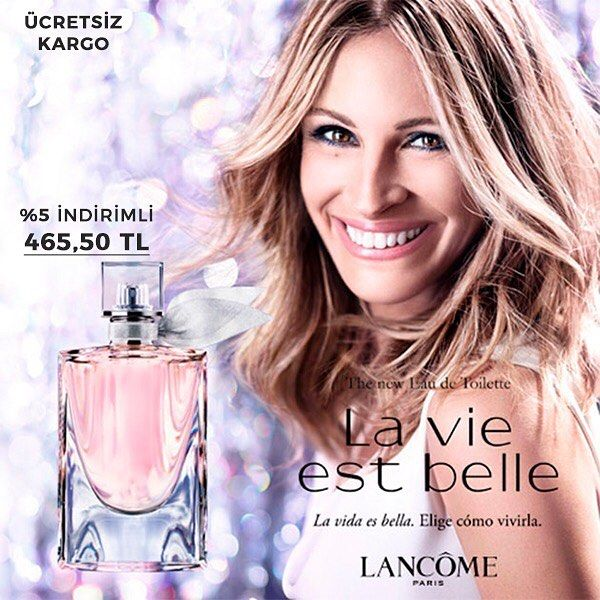 Vizyonunu Özgürlük ve Mutlulukla Oluşturan Kadınların Hayata Bakışını Yansıtan Parfüm Lancome La Vie Est Belle Bayan Edp 100ml